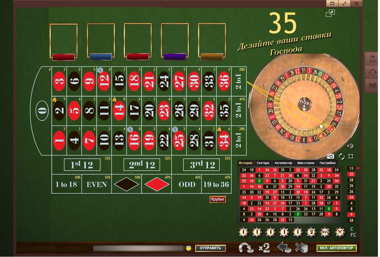 Рулетка система догон кто был в роял казино в риге